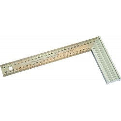 EQUERRE LAME INOX 400 MM