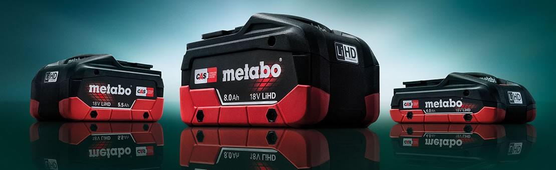 Batteries Metabo